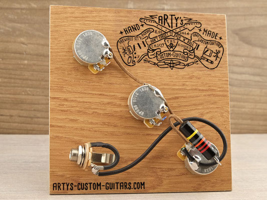 Gibson Explorer PREWIRED KIT Arty's Custom Guitars