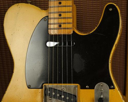Nocaster Broadcaster Relic Repro Butterscotch Telecaster artys-cusom-guitars.com