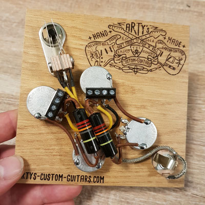 SOLDERLESS PREWIRED KIT GIBSON SG BUMBLE BEE Arty's Custom Guitars