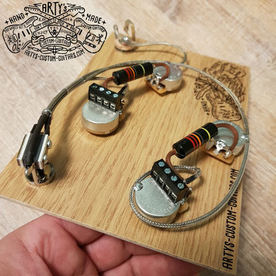 Solderless Gibson Wiring Harness ES-335 Arty's Custom Guitars