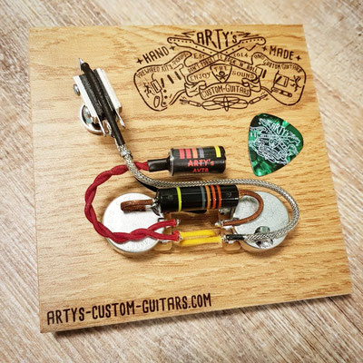 Custom Order Wiring Harness Arty's Custom Guitars