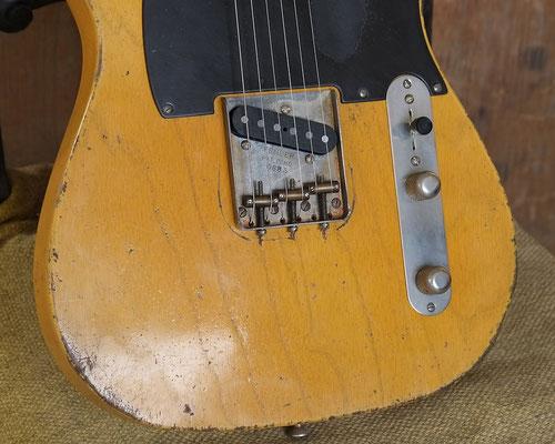 Broadcaster Nocaster Relic Repro Butterscotch Telecaster artys-cusom-guitars.com