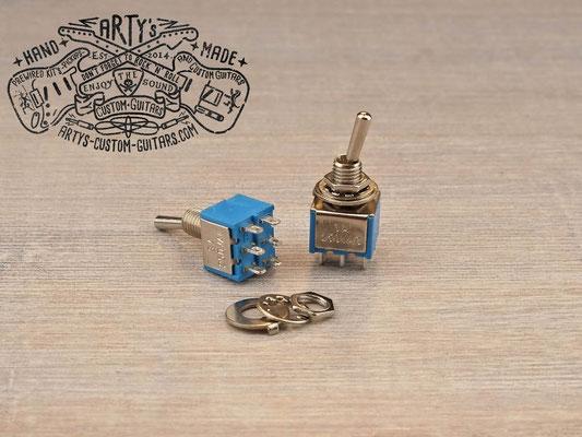 Mini-Switch 2-poliger Kippschalter