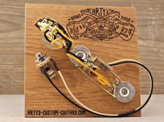 PREWIRED HARNESS TELECASTER 4-Way PREWIRED KIT Arty's Custom Guitars