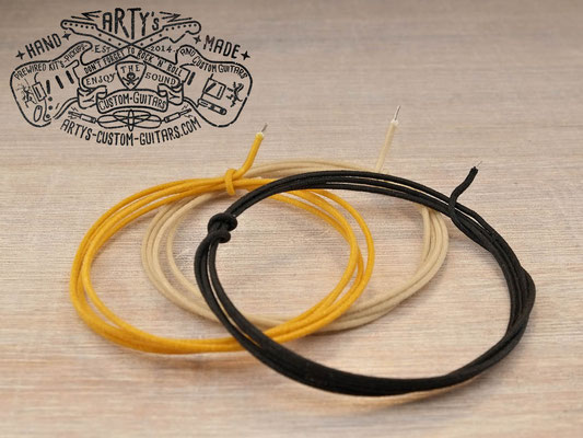 Vintage Cloth Wire 22 AWG