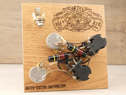 Les Paul Coil Split Prewired Kit