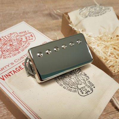 PAF Low Output Humbucker Vintage Clone Pickup www.artys-custom-guitars.com