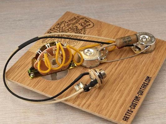 PREWIRED HARNESS Tele Telecaster 3-Way REVERSE artys-custom-guitars.com