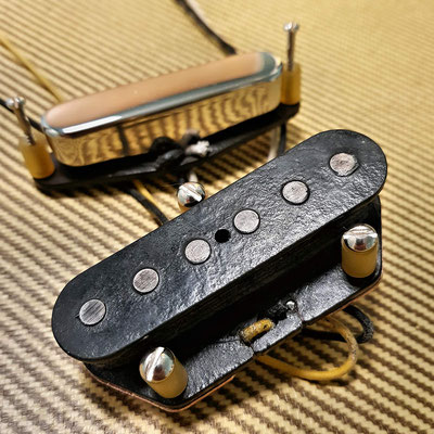 Broadcaster Nocaster Arty's Vintage Clone Pickups for Telecaster artys-cusom-guitars.com