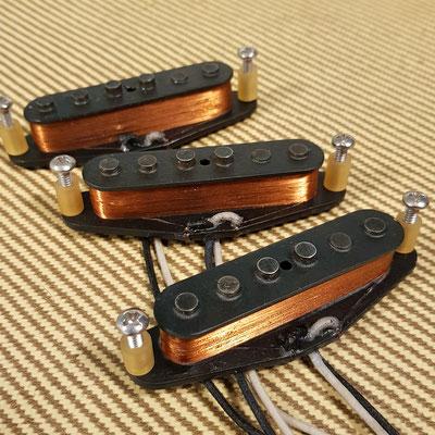 Stratocaster Vintage Clone Pickups www.artys-custom-guitars.com Arty's Custom Guitars