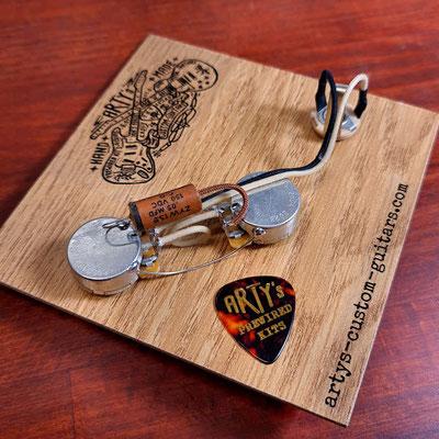 P-Bass CTS standard torque pots Arty's Custom Guitars
