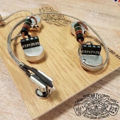 Gibson ES-335 / ES-330 Solderless Prewired Kit Arty's Custom Guitars