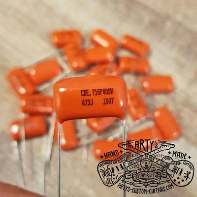 Orange Drop Guitar Tone Capacitor  Arty's Custom Guitars