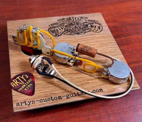 Tele 3-Way CTS standard torque pots artys-custom-guitars.com