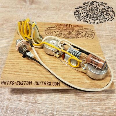 SOLDERLESS PREWIRED KIT TELECASTER 3-Way Tele artys-custom-guitars.com