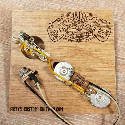 THINLINE TELE '72 WIRING HARNESS artys-custom-guitars.com