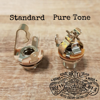 PURE TONE Multi Contact Mono Output Jack artys-custom-guitars.com