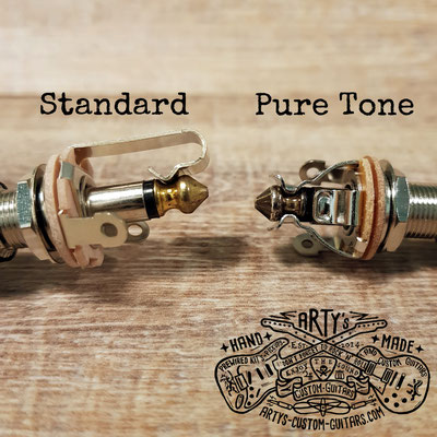 PURE TONE Multi Contact Mono Output Jack www. artys-custom-guitars.com