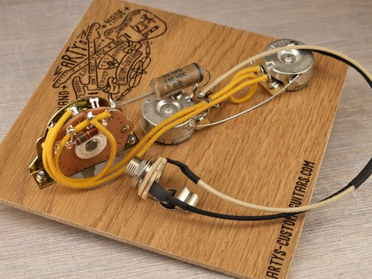 WIRING HARNESS Broadcaster Tele - Arty's Custom GuitarsArty's Custom Guitars
