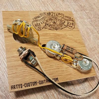 THINLINE TELE WIRING HARNESS Arty's Custom Guitars www.artys-custom-guitars.com