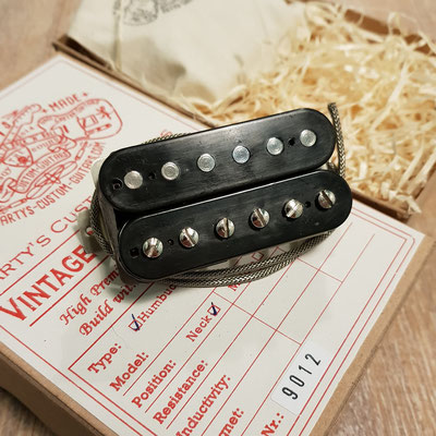 Arty's Custom Guitars Hot P.A.F.  Vintage Clone Pickups artys-custom-guitars.com