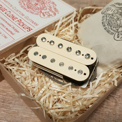 Vintage Clone Pickups Hot P.A.F. Humbucker www.artys-custom-guitars.com