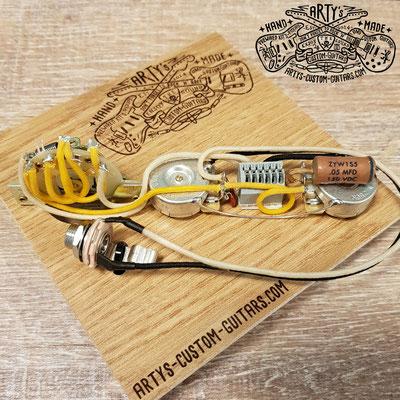 SOLDERLESS WIRING HARNESS TELECASTER 3-Way Tele Arty's Custom Guitars