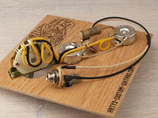 PREWIRED HARNESS Telecaster 4-Way artys-custom-guitars.com