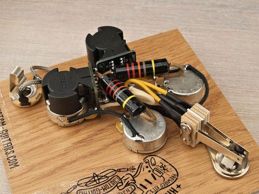Gibson SG Coil Split PREWIRED KIT Arty's Custom Guitars