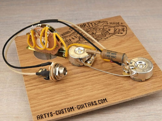 PREWIRED HARNESS Tele Telecaster 3-Way REVERSE artys-custom-guitars.com