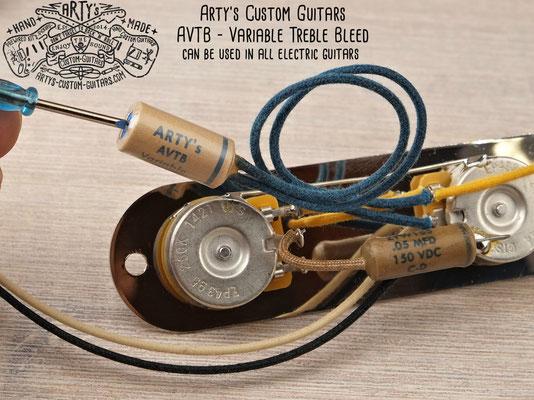 Variable Treble Bleed Circuit AVTB Arty's Custom Guitars