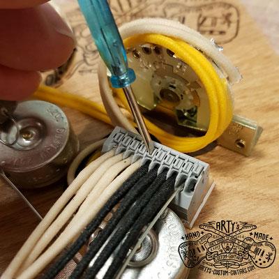 Solderless Wiring Terminal Arty's Custom Guitars