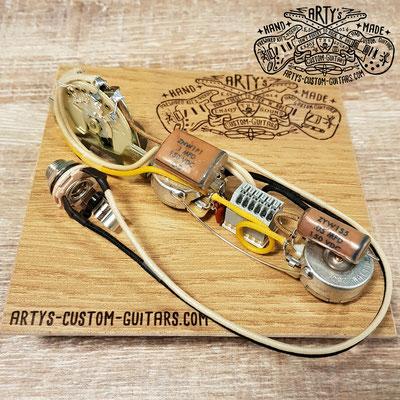 SOLDERLESS PREWIRED KIT TELECASTER Dark Circuit Arty's Custom Guitars