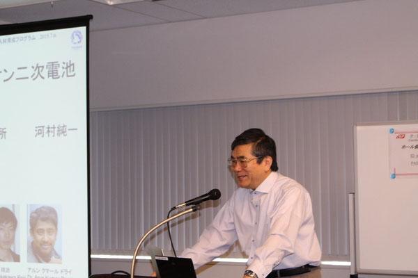 東北大学教授 河村純一「電力保存装置としてのLiイオン二次電池とその課題」