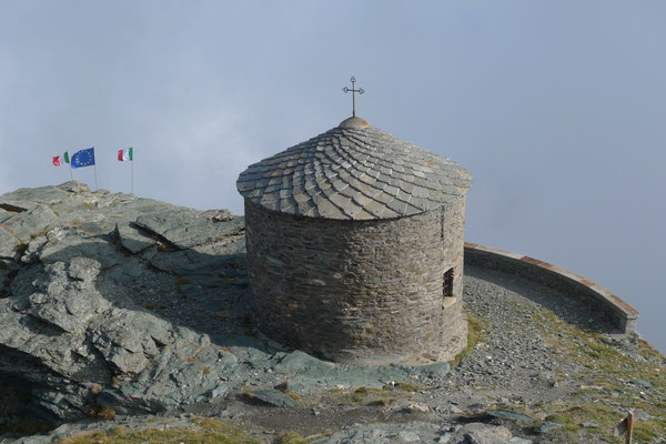 Beim Rifugio Ca d'Asti