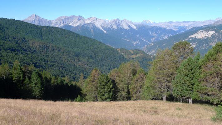 Blick ins obere Valle Bardonecchia
