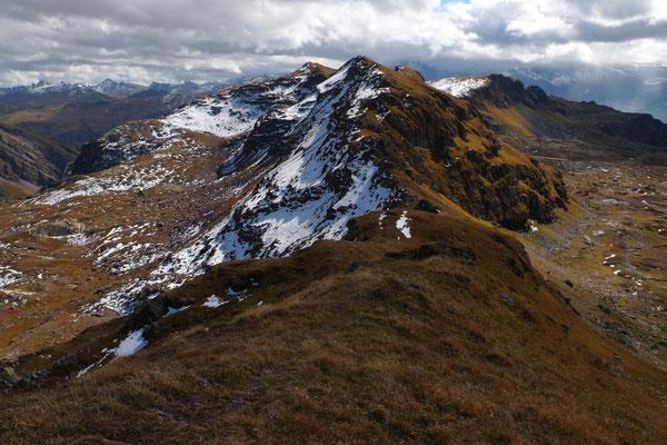 Gipfel und Grate zum Gufelstock
