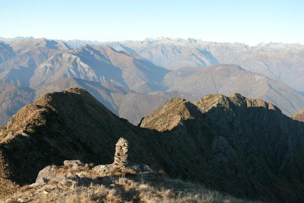 Auf dem Gipfel des Fumadiga