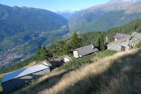 Abstieg ins Valle Susa