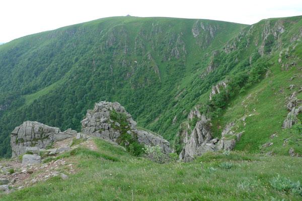Le Hohneck, der dritthöchste Gipfel der Vogesen