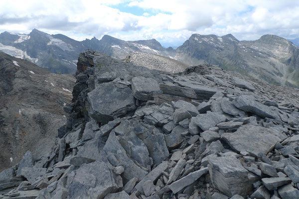 Auf dem Gipfel des Furggeltihorn