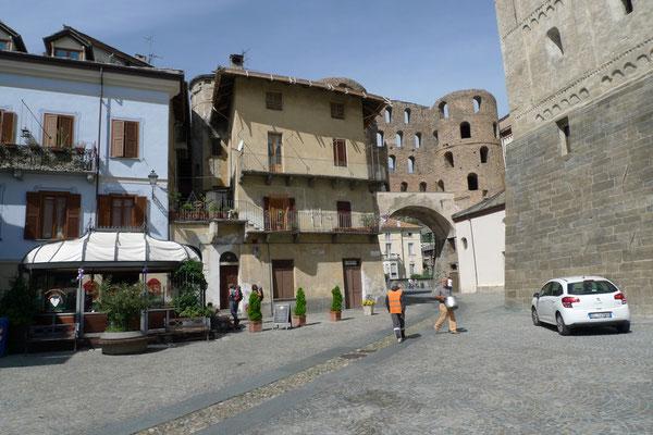 Die alte Römerstadt Susa
