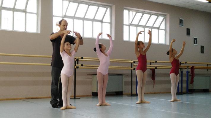 Stage con Ludmill Cakalli (Opera di Tirana e ex ballerino del Bolshoi)