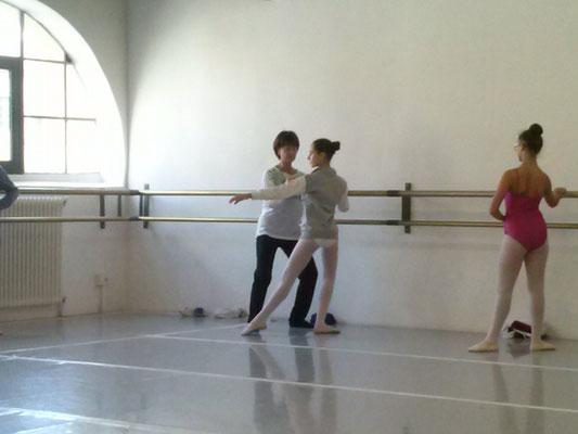 Elisa Caramaschi con Mariella Ermini
