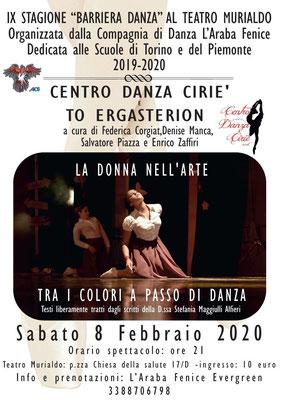 """Locandina spettacolo multi-arte """"LA DONNA NELL'ARTE"""""""