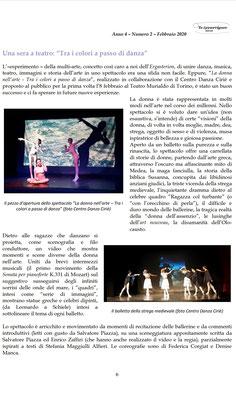 """Spettacolo multi-arte """"LA DONNA NELL'ARTE"""""""