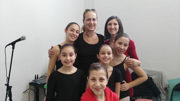 Con la Maestra Alessandra Celentano (Amici)