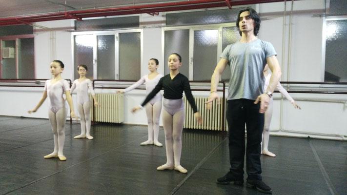 Stage di Danza Classica con Dorian Grori (Nuovo Balletto Classico)