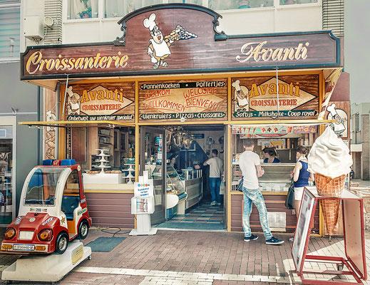 Croissanterie in Den Helder  Nord-Holland
