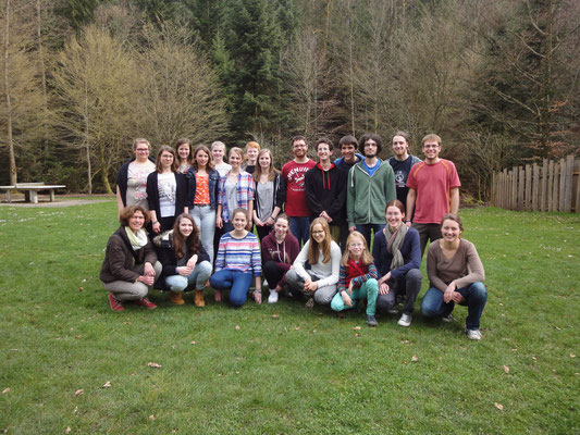Auf dem Freizeitgelände im Monbachtal